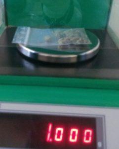 1 grammo a 8€. Di cosa?