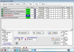 h2o professional software laboratorio galenico tariffa
